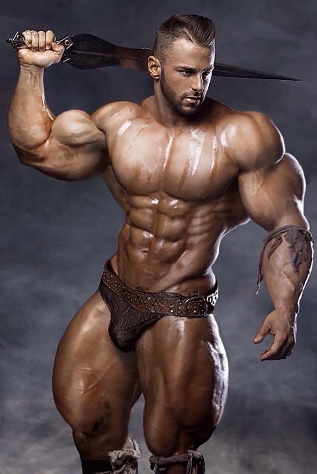 muscle hot men