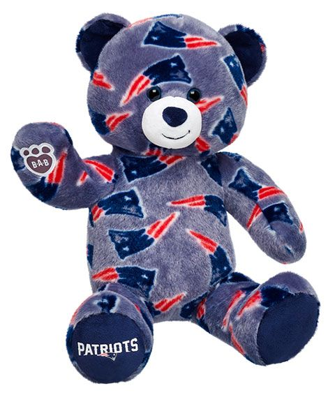 16 in. New England Patriots Bear | Build-A-Bear Workshop