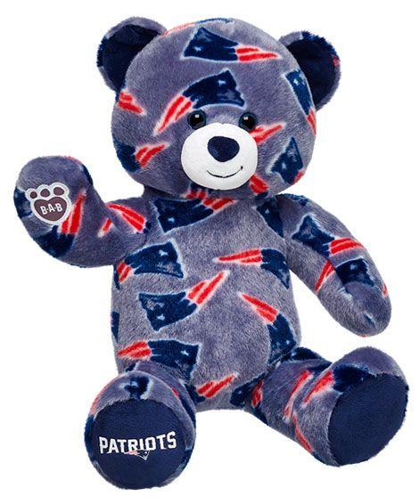 16 in. New England Patriots Bear | Build-A-Bear Workshop