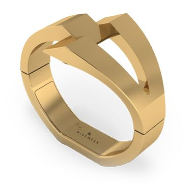 Wisewear Calder bracelet.  Sleek and statementy activity tracker! LOVE.