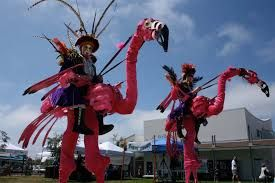 Image result for festival sports activities stilts