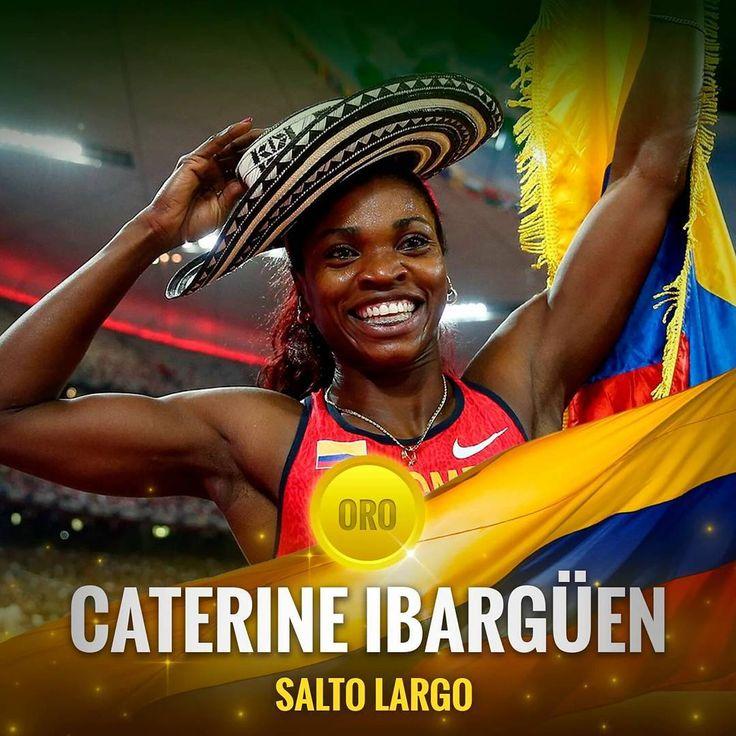 Gracias mi negra #thequeen #diosadeebano #ubaldoduany #orgullo #colombia  #🏅#oro #oroolimpico🇨🇴 #♥ #🇨 🇴 #🇨🇴 #lanegratienetumbao #lanegradorada #olimpiadasrio2016 #saltolargo #saltotriple #triplesalto #atletismo 💪💪 👏👏👏🙌👍☝🎆🎆🎉🎊🎇🙇 el brillo de tu medalla sólo se compara con tu sonrisa aún más resplandeciente 💛💛💙♥🌌😀 primer oro olimpico para Ibargüen, segunda medalla olímpica para ella, la primera en #londres2012 consiguió medalla de plata, en mundiales de esta disciplina…