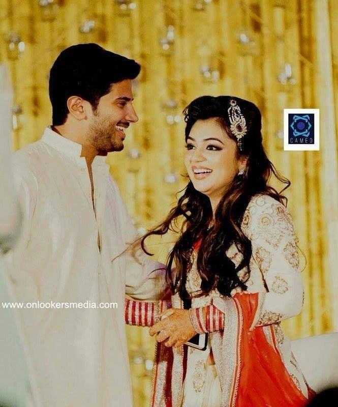Dulquer Salmaan at Nazriya Nazim Wedding