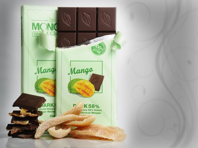 This is the yummy mango chocolate