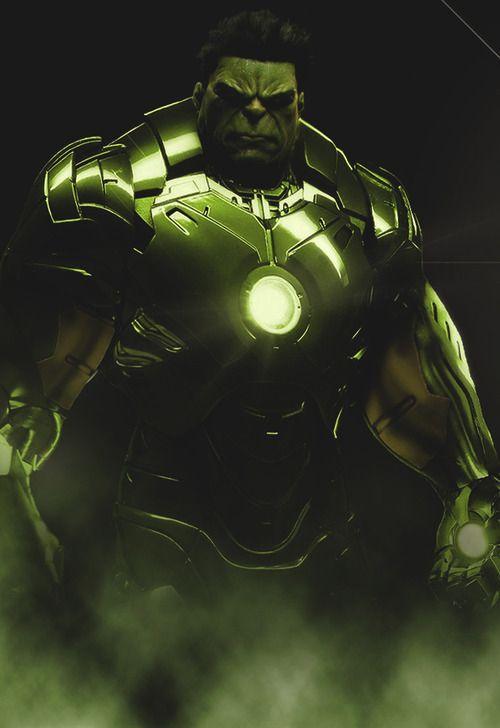 Iron Man Hulk Suit 62