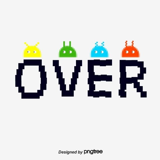 Game End Game Over Game Over End Png Transparent Clipart Image And Psd File For Free Download Vector Game Png Graphic Resources