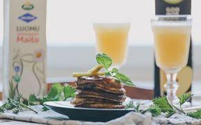 Nokkospannukakut / Nettle pancakes by Hannan soppa (www.hannansoppa.com).