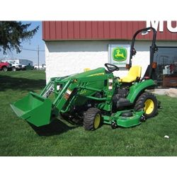 John Deere 1023E Sub Compact Utility Tractor -- http://www.muttonpower.com/store/p-8800-john-deere-1023e-sub-compact-utility-tractor.aspx