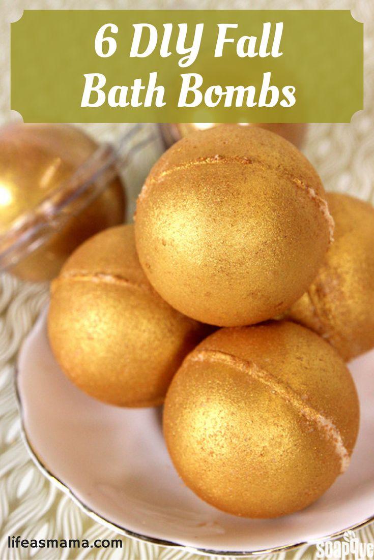 6 Fall Street Style Trends: 6 DIY Fall Bath Bombs