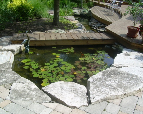 24 best pond images on pinterest - Patio Pond Ideas