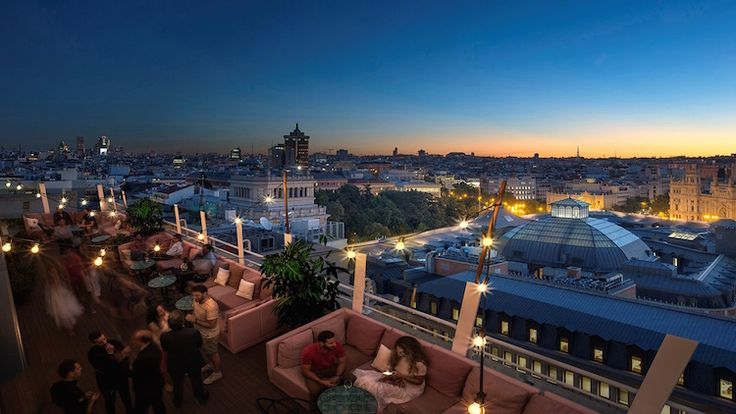 Seagram's Gin trae un pedacito de la Gran Manzana a Madrid con la propuesta Seagram's New York Rooftop at Casa Suecia en el Hotel NH Collection Casa Suecia.