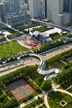 Millennium Park, Chicago. ♥ Repinned by Annie @ www.perfectpostage.com
