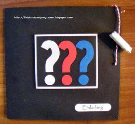 Kontrastprogramm: Die drei Fragezeichen- eine Party