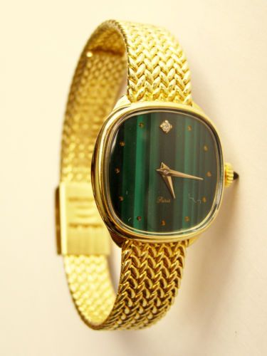 RELOJ-DE-SENORA-CARGA-MANUAL-LADIES-GOLD-TONE-WIND-UP-WRISTWATCH-LORSA-8FA-NOS