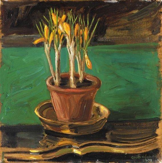 AKSELI GALLEN-KALLELA  Kukkaruukku (A Pot of Flowers)