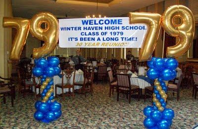 Class Reunion Decorations | Party People Celebration Company - Special Event Decor Custom Balloon ...