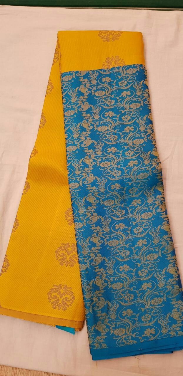 Pure kanchipuram  H/h style sarees  Contrast blouse  9999- plus shipping   Order what's app 7093235052