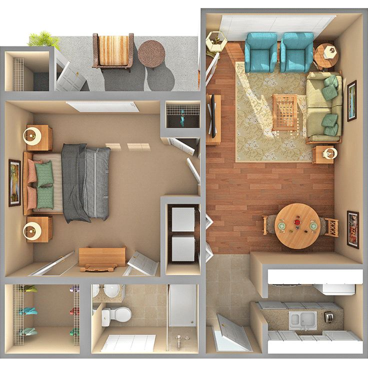 Looking For One Bedroom Apartment: Image Result For 400 Sq Ft Apartment Floor Plan