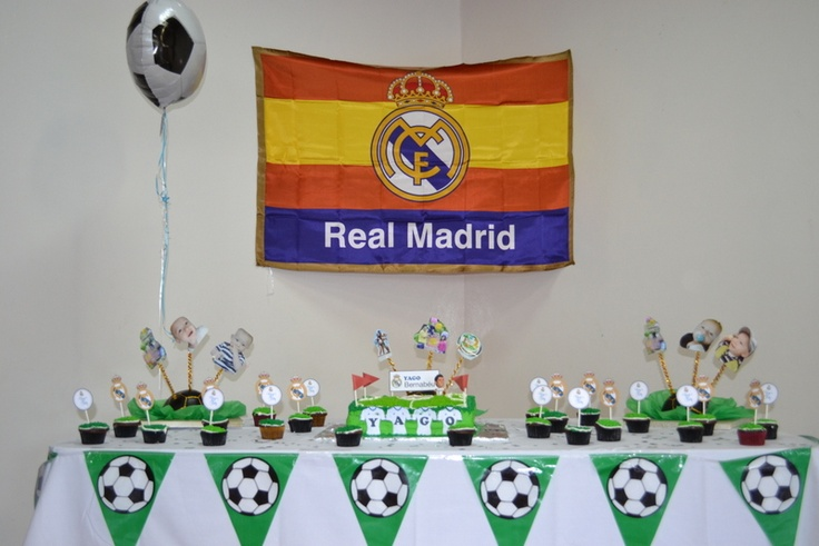 16 best images about david 39 s 11th birthday party ideas on pinterest - Real madrid decorations ...
