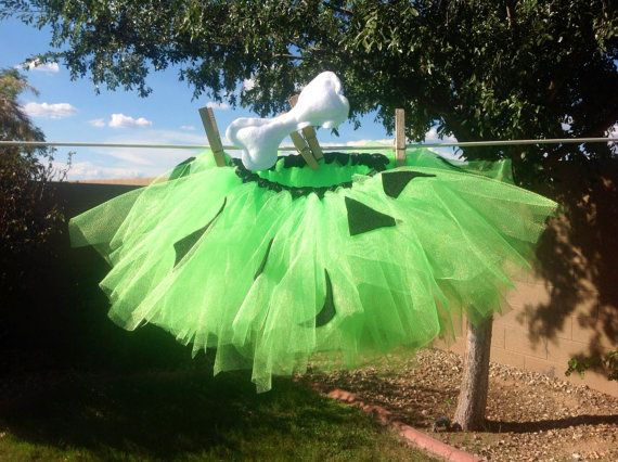 Pebbles Tutu, Flintstones, Halloween Costume--FREE SHIPPING on Etsy, $19.99