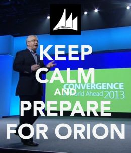 Keep Calm and Prepare for Orion!    The next major version of #Microsoft #Dynamics #CRM is expected to be released in the second half of 2013...  Contact info@QGate.co.uk OR info@QGateSoftware.com for more detail.  #CRM #KeepCalm