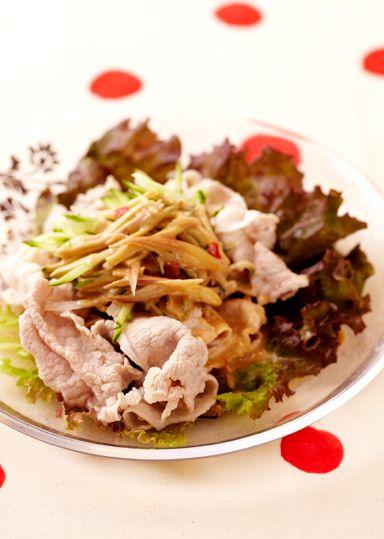 豚しゃぶサラダ のレシピ・作り方 │ABCクッキングスタジオのレシピ | 料理教室・スクールならABCクッキングスタジオ