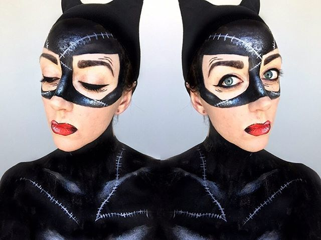 Pin for Later: 15 Halloween Beauty Costumes That Begin With a Bold Cat Eye Catwoman