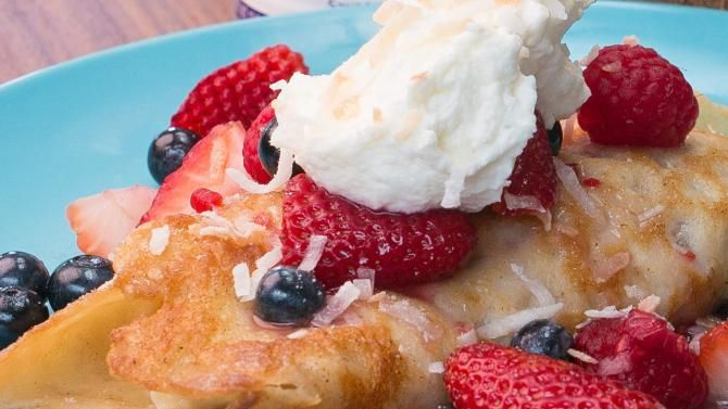 You know those amazing crepes you get from your favorite cafe? Well you can make those at home! And they're ev...