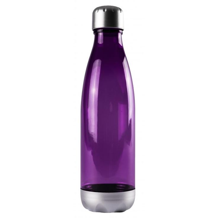 Image of Promotional Fizzy Triatan Water Bottle, Milk Shaped 670 ml bottle Purple