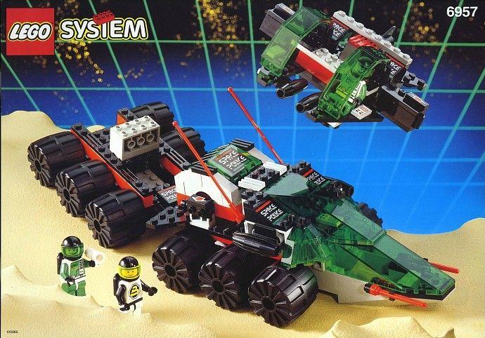 Space Space Police 2 Lego Space Police Lego Space Vintage Lego