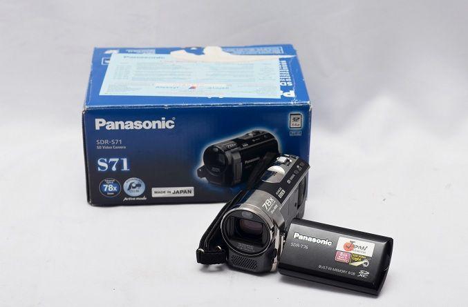 Jual Handycam Bekas – Panasonic SDR-S71GC: Handycam Bekas - Panasonic SDR-S71GC Harga: Rp. 1.150.000,- (Ready Stok)