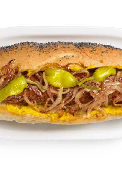 Maxwell Street Polish Sausage Sandwiches