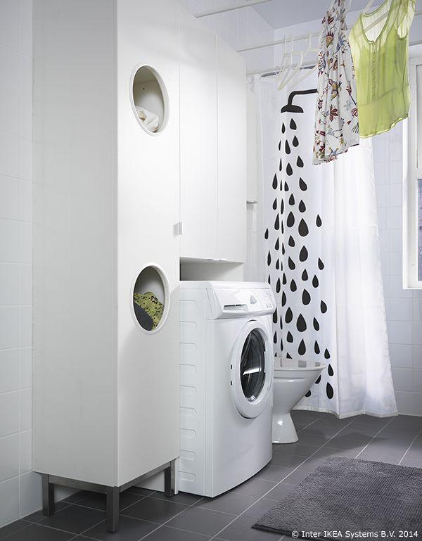 Mueble para ropa sucia ikea for Mueble para lavadora ikea