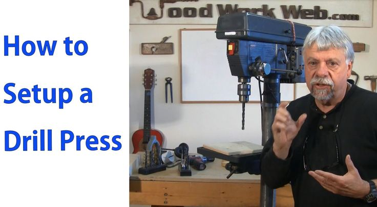 How to Setup and Use the Drill Press - Woodworking for Beginners #5