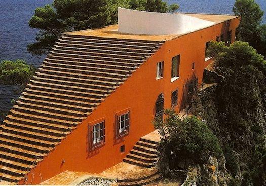 Casa Malaparte, Adalberto Libera / Curzio Malaparte, 1938 / 1940, Capri, Italien