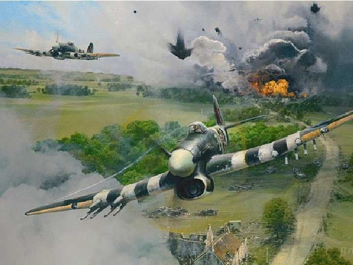 Stunning Aviation Art Reveals WWII Fighting That'll Never Be Seen Again
