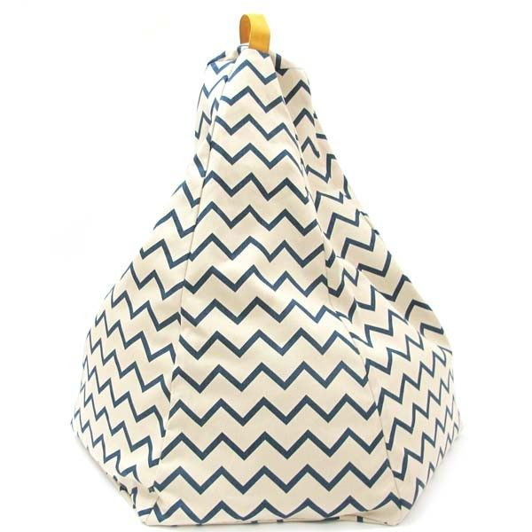 pouf forme poire zigzag bleu kids room pinterest poufs et marrakech. Black Bedroom Furniture Sets. Home Design Ideas