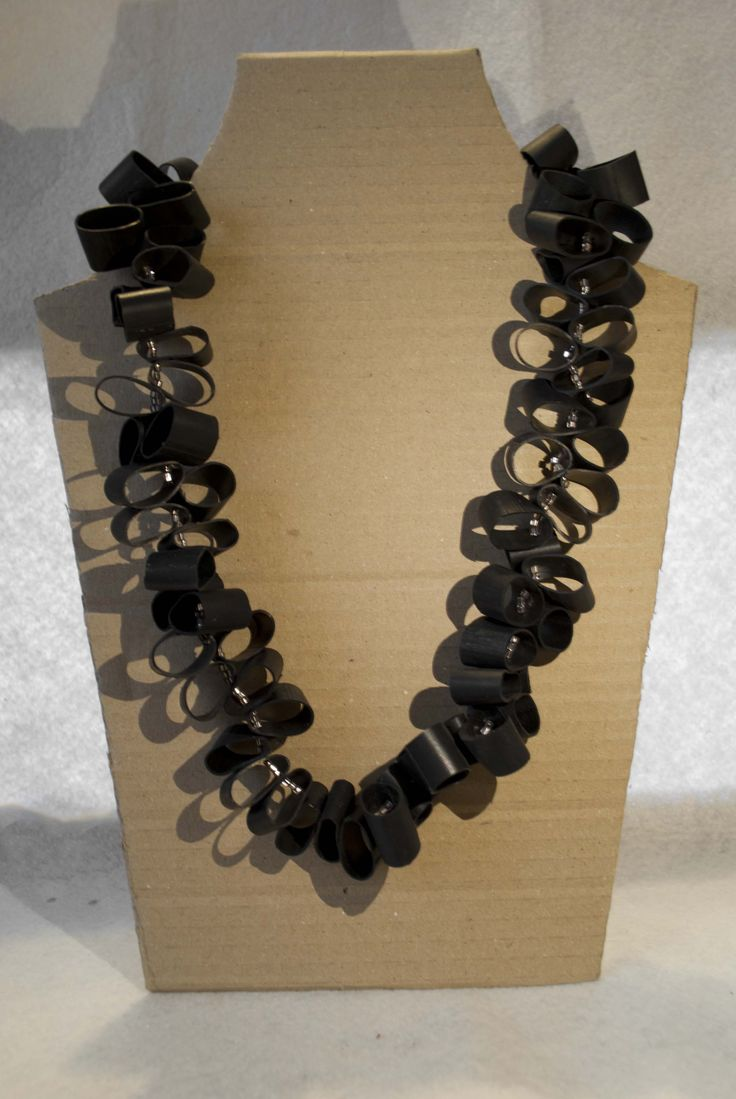inner tube necklace/ Grenade