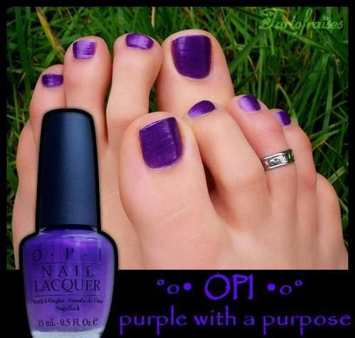 purple toes!! LOVE!!!
