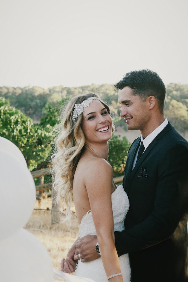 Beautiful Outdoor Wedding with a Beaming Bride | CJ Williams Photography | Bridal Musings Wedding Blog 37