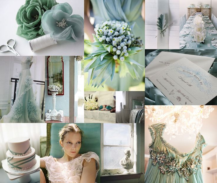 Turquoise + Blush+ Jade = A more feminine / muted collection of colors, this reminds me of the peacock themed weddings, which have skyrocketed in popularity in recent years.