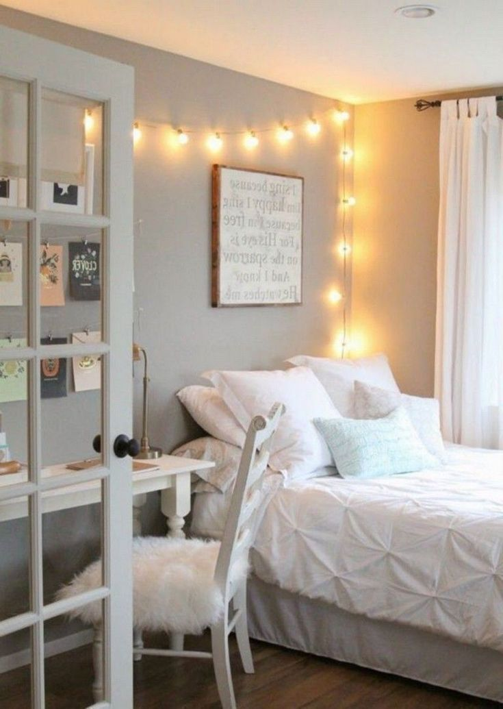 40+ Cute Teen Girls Room Decorating IdeasThat Will Delight You #girlroom #girlbe…