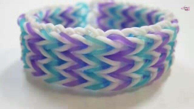 Loom bracelet tutorial: http://youtu.be/_z5S1xaMe8Y