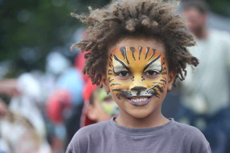 Kids love WOMAD.  There is loads to do at Kidzone at WOMAD NZ. Photo credit Trevor Villers    Photo credit  #WOMADnz #WOMADkids #Facepainting #FamilyFriendlyFestival