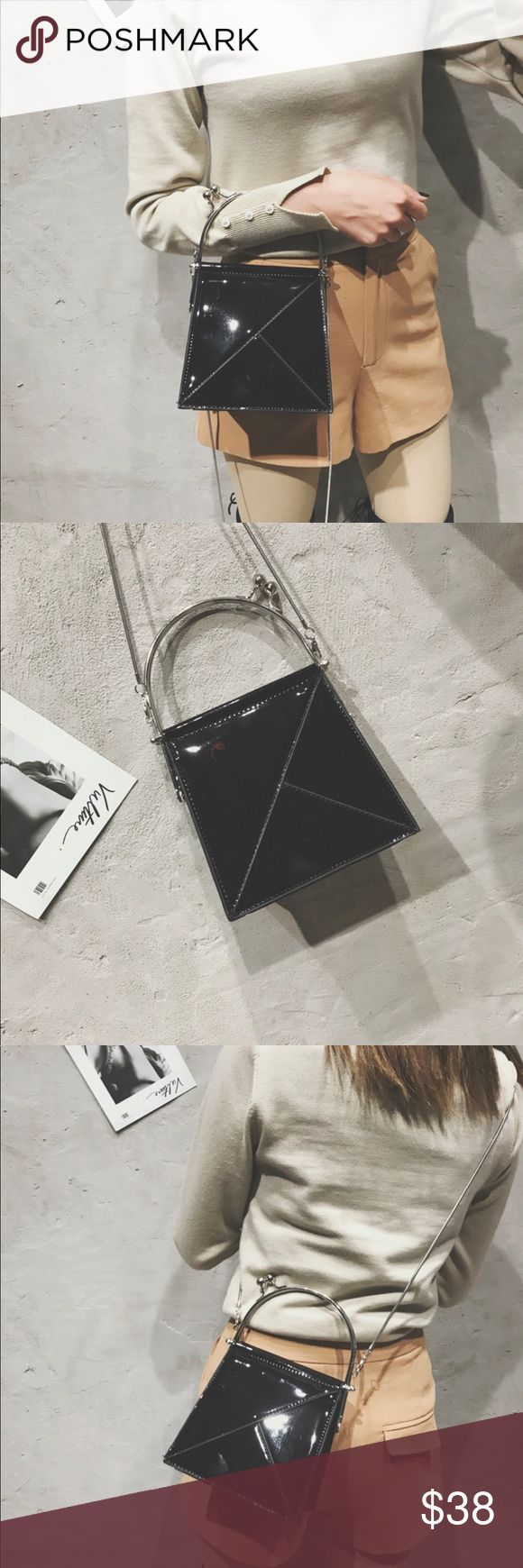 Cute Crossbody !!Brand New !!Size :8*7.5*3in !!Material :PU    Weight:0.98Ib !!Capaticy:7 plus /8 plus case !! Next day shipping Bags Crossbody Bags