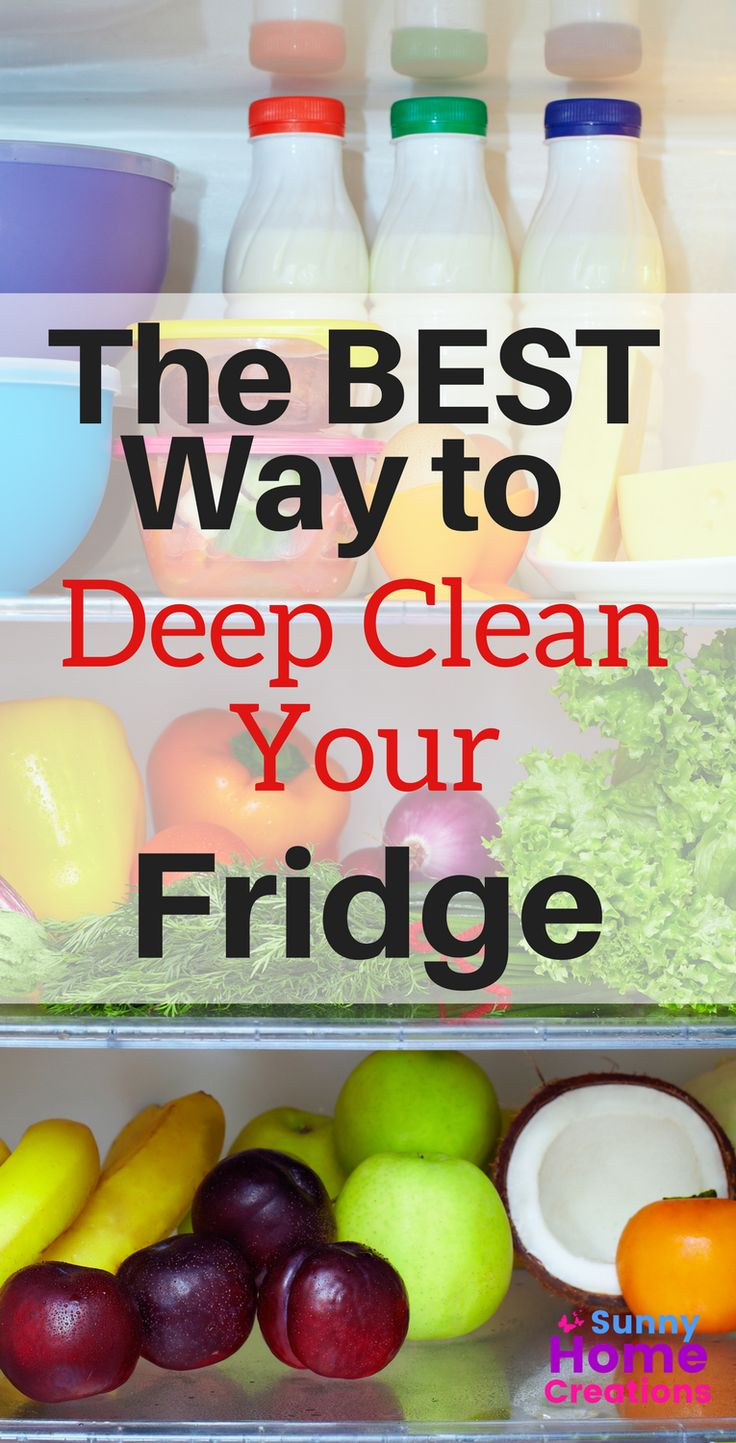 How To Clean A Refrigerator (With Images)