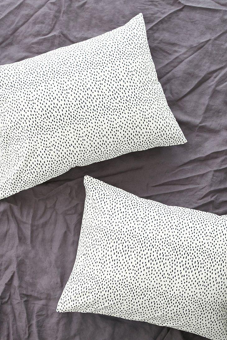 Allover Brushstroke Pillowcase Set - Urban Outfitters