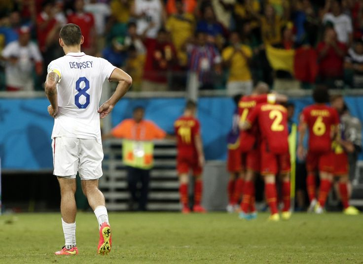 United States rally comes up short in 2-1 extra time loss to Belgium