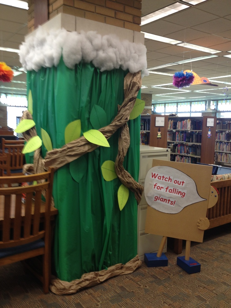 Classroom Door Decoration Ideas For Preschool ~ Best jack and the beanstalk images on pinterest