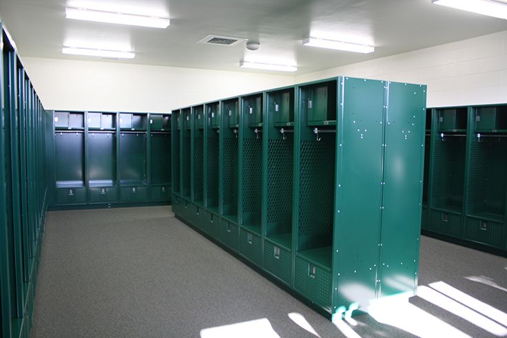 Several locker rooms